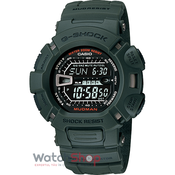 Ceas Casio G-Shock G-9000-3VSDR Mudman original barbatesc