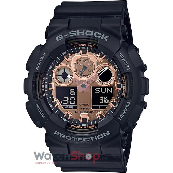 Ceas Casio G-Shock GA-100MMC-1AER original barbatesc