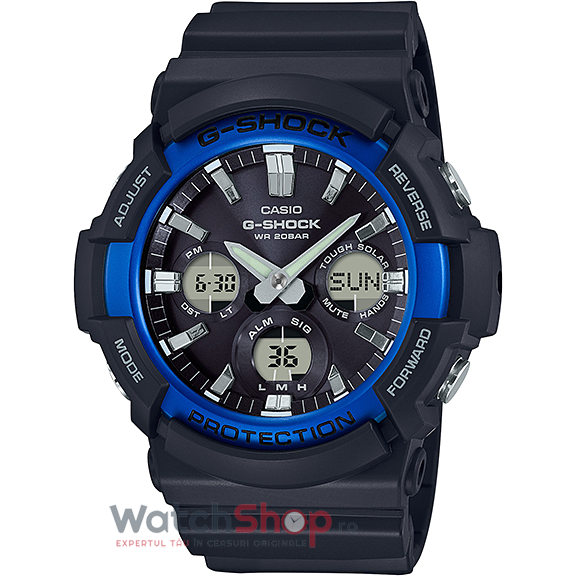 Ceas Casio G-Shock GAS-100B-1A2DR original barbatesc