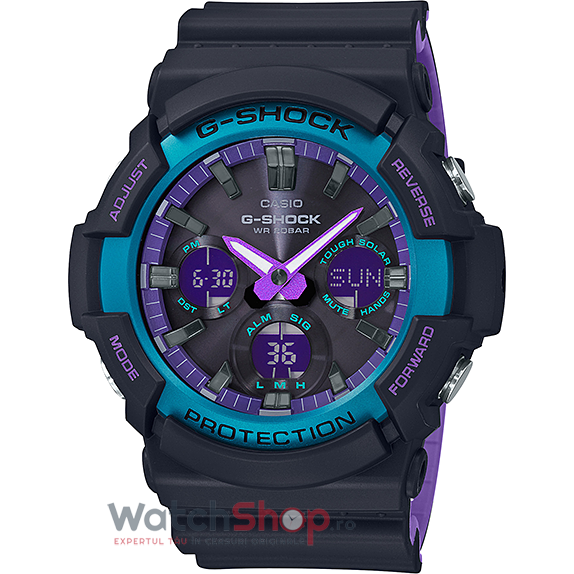 Ceas Casio G-Shock GAS-100BL-1ADR original barbatesc
