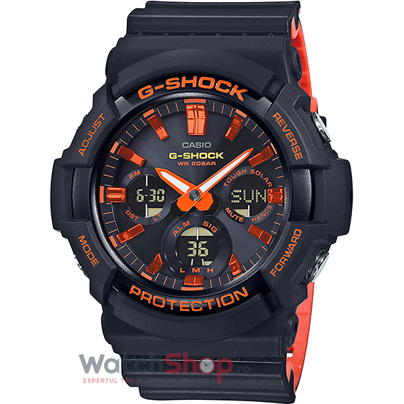 Ceas Casio G-Shock GAS-100BR-1ADR original barbatesc