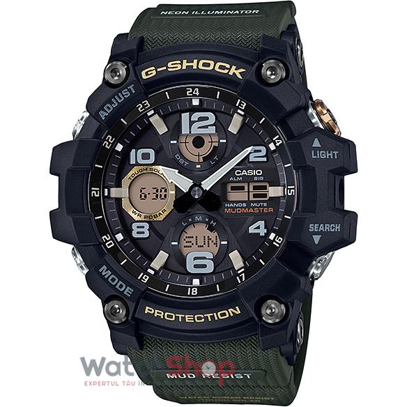 Ceas Casio G-Shock GSG-100-1A3DR Mudmaster barbatesc de mana