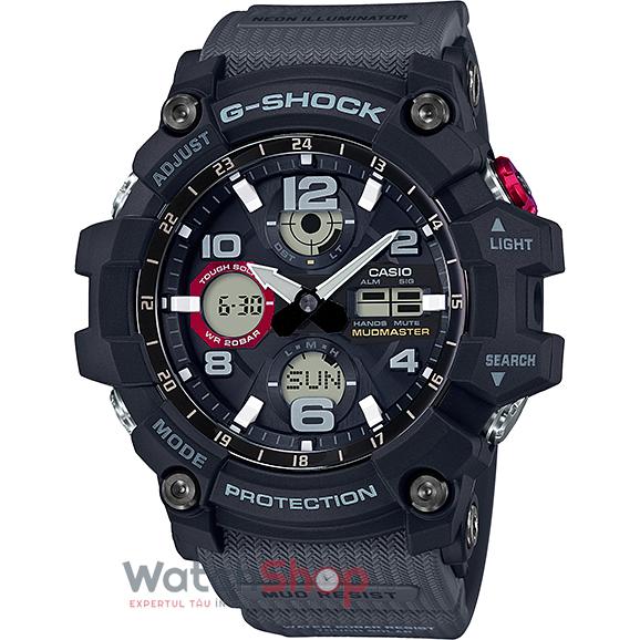 Ceas Casio G-Shock GSG-100-1A8DR Mudmaster barbatesc de mana
