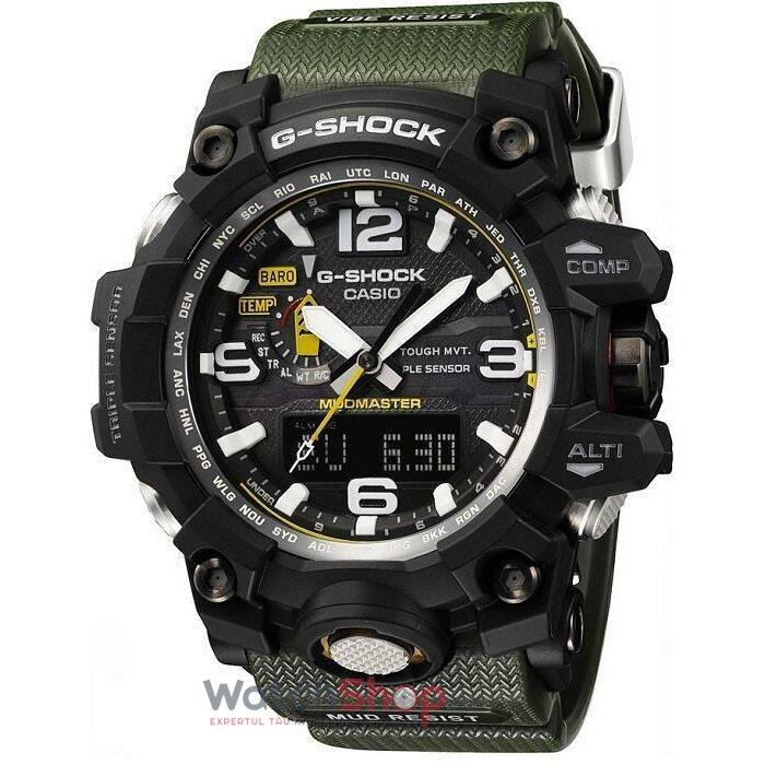 Ceas Casio G-Shock GWG-1000-1A3ER Mudmaster barbatesc de mana