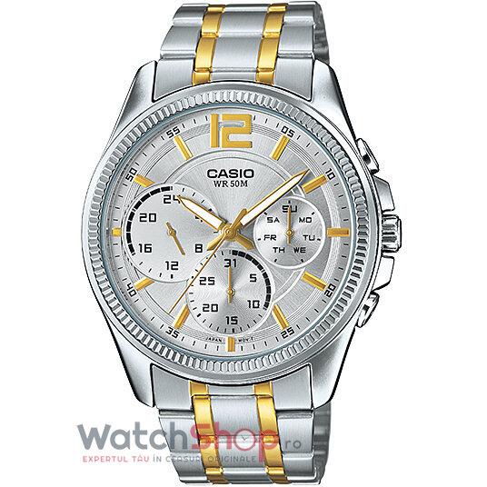 Ceas Casio SPORT MTP-E305SG-9AVDF original barbatesc