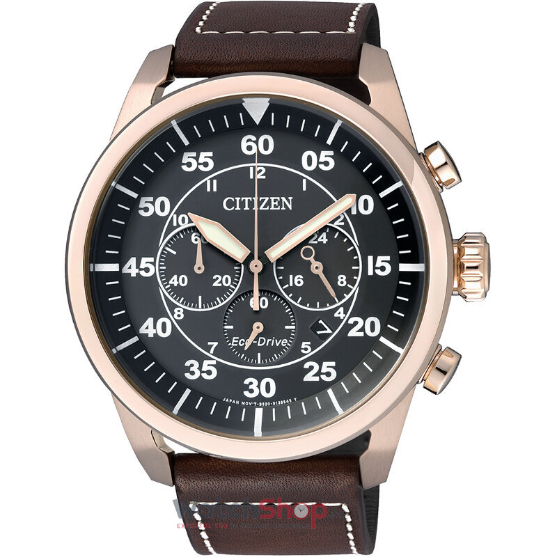 Ceas Citizen AVIATOR CHRONO CA4213-00E Eco-Drive barbatesc de mana