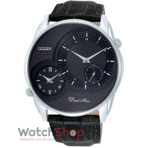 Ceas Citizen Dress AO3009-04E Dual Time original barbatesc