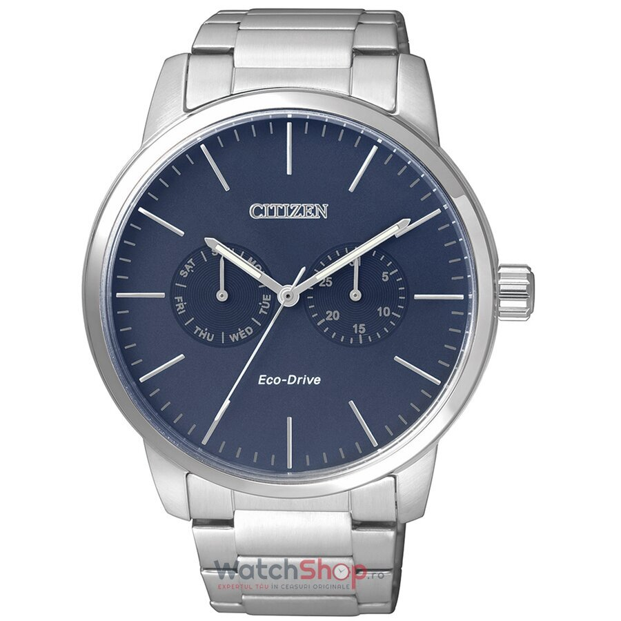 Ceas Citizen Dress AO9040-52L Eco Drive original barbatesc