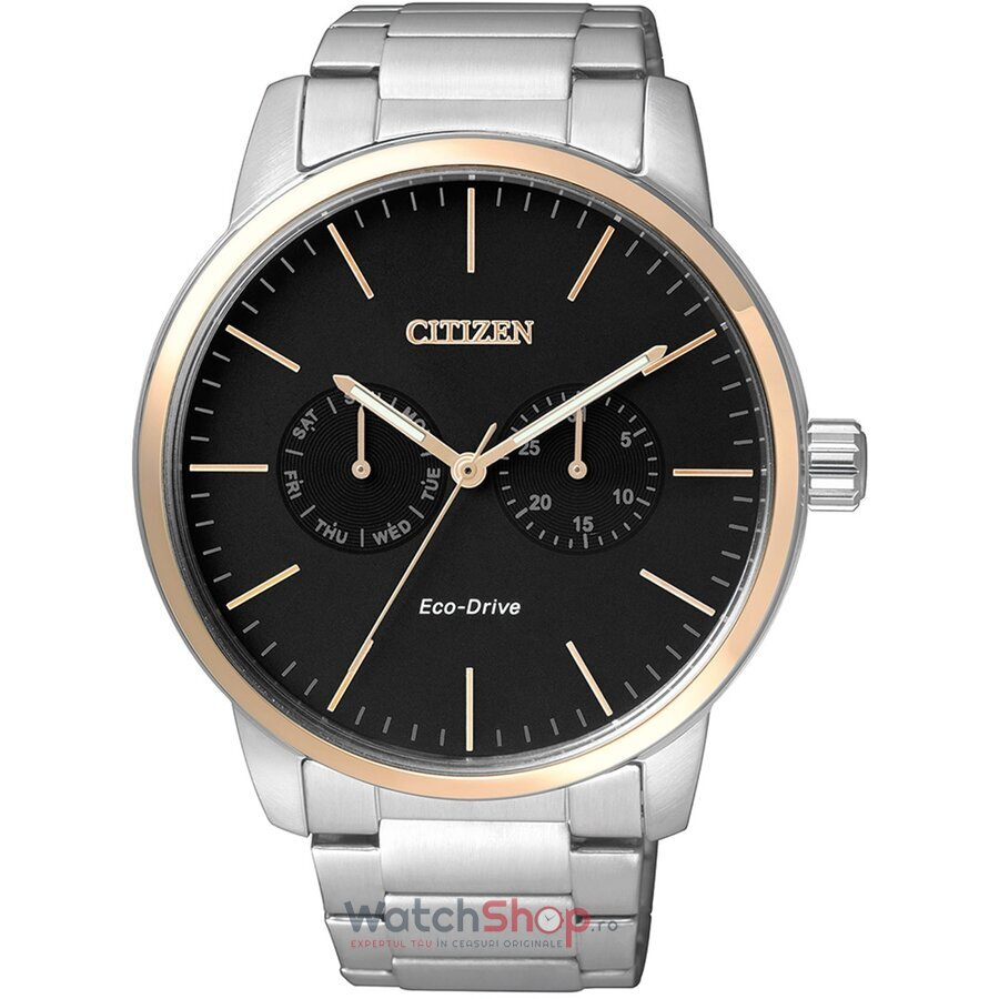 Ceas Citizen Dress AO9044-51E Eco Drive barbatesc de mana