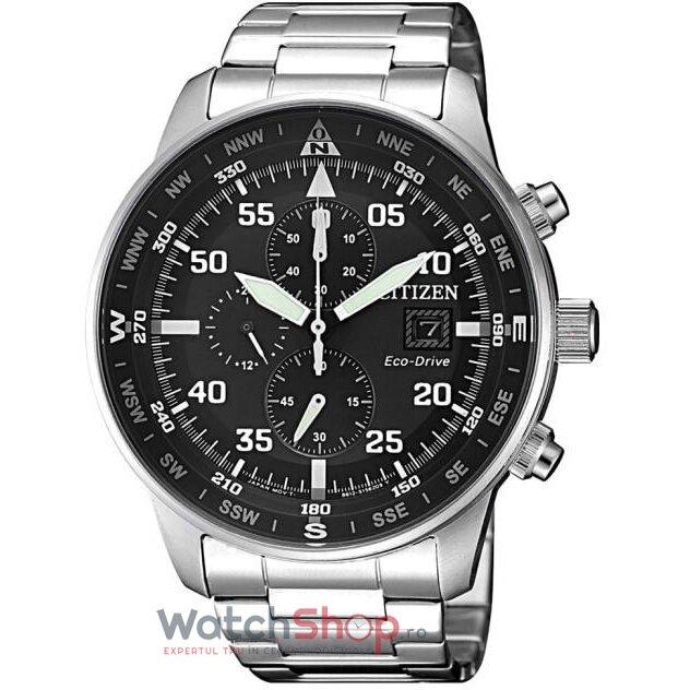 Ceas Citizen ECO DRIVE CA0690-88E Cronograf barbatesc de mana