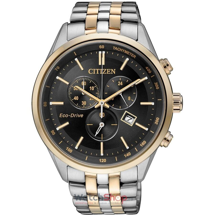 Ceas Citizen Eco Drive AT2144-54E Cronograf barbatesc de mana