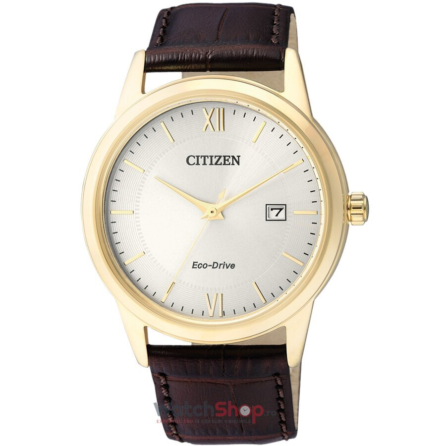Ceas Citizen Eco Drive AW1232-12A original barbatesc