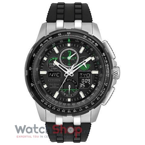 Ceas Citizen Promaster Skyhawk A-T Eco Drive JY8051-08E Cronograf barbatesc de mana