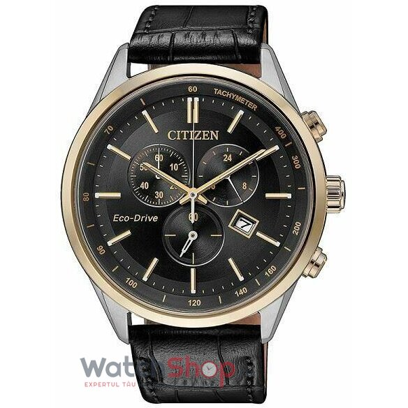 Ceas Citizen Sports AT2144-11E Eco Drive Cronograf barbatesc de mana