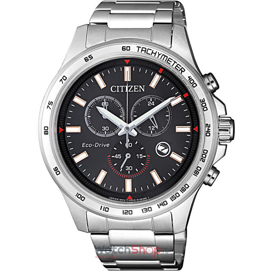 Ceas Citizen Sports AT2420-83E Eco Drive Cronograf barbatesc de mana