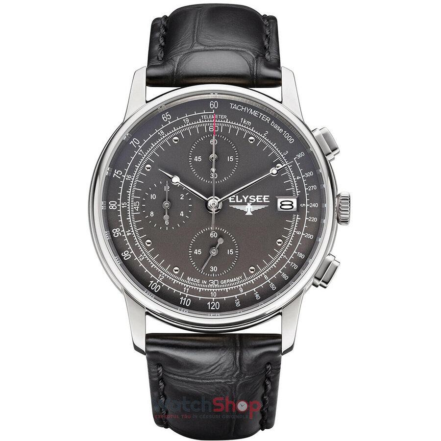 Ceas Elysee Heritage 11011 Cronograf barbatesc de mana