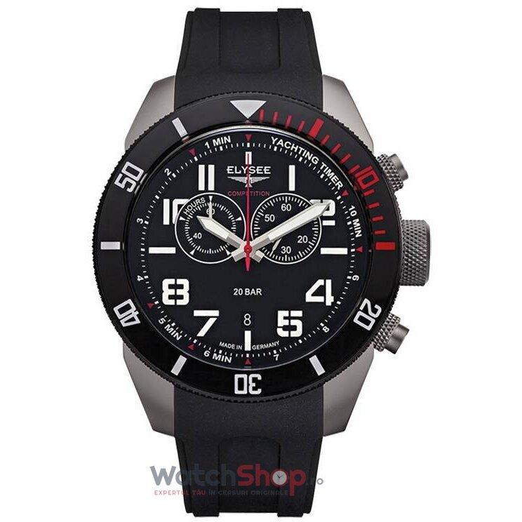 Ceas Elysee YACHTING TIMER 94001 Cronograf barbatesc de mana