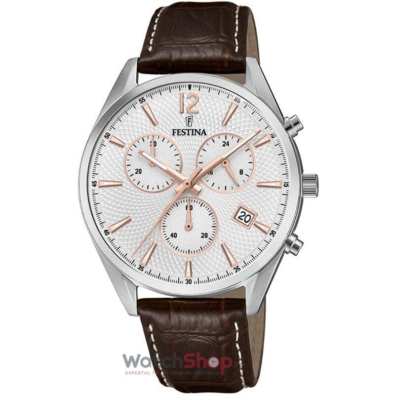 Ceas Festina Classic F6860/5 Cronograf original barbatesc