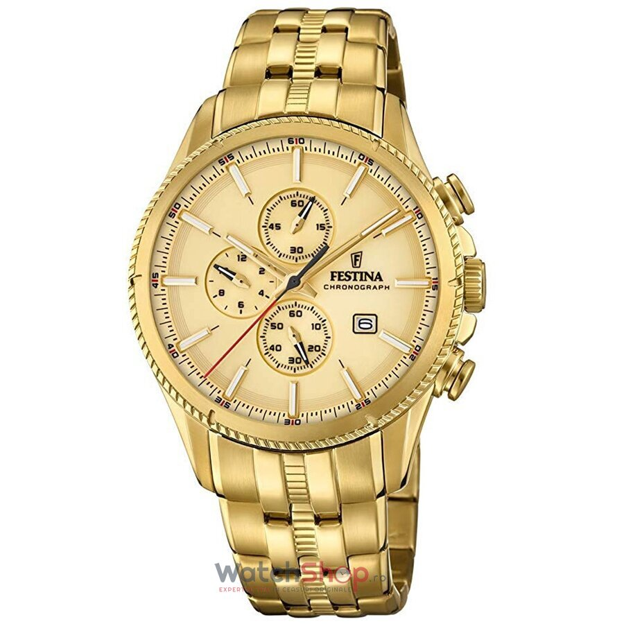 Ceas Festina Prestige F20418/1 Cronograf original barbatesc