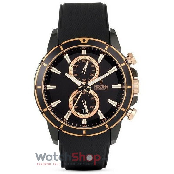 Ceas Festina SPORT F16852/1 Cronograf original barbatesc