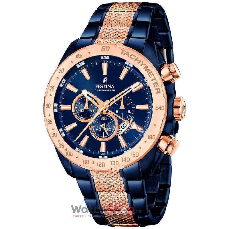 Ceas Festina SPORT F16886/1 Cronograf barbatesc de mana
