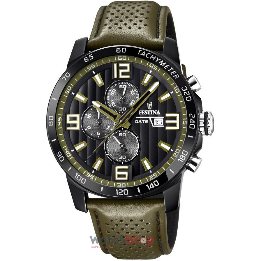 Ceas Festina THE ORIGINALS F20339/2 Cronograf original barbatesc