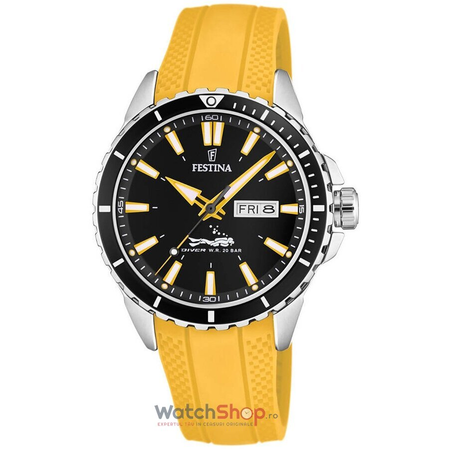 Ceas Festina The Originals F20378/4 Diver original barbatesc