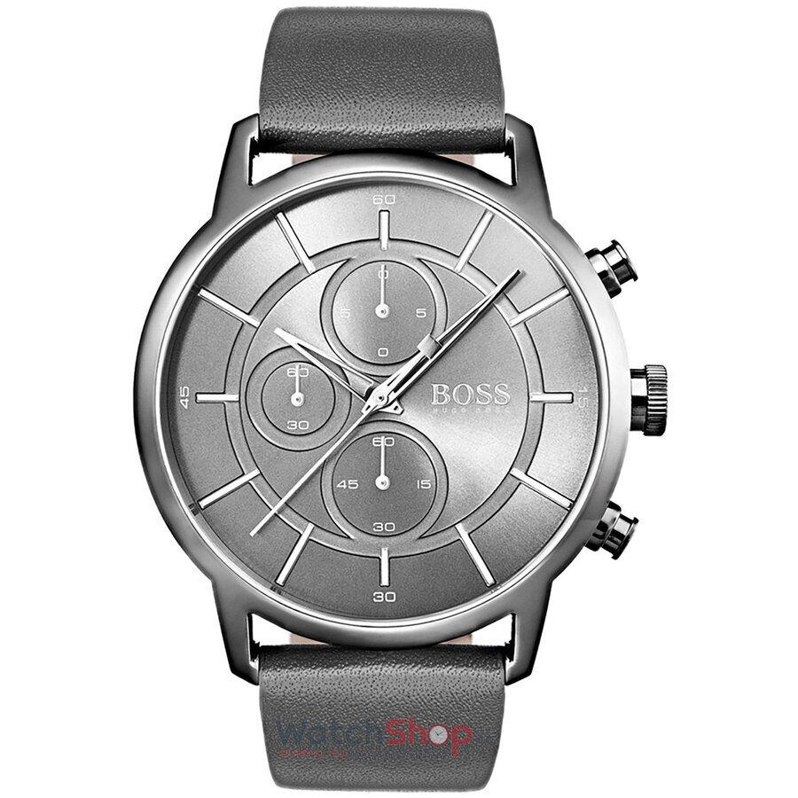 Ceas HugoBoss Architectural 1513570 Cronograf barbatesc de mana