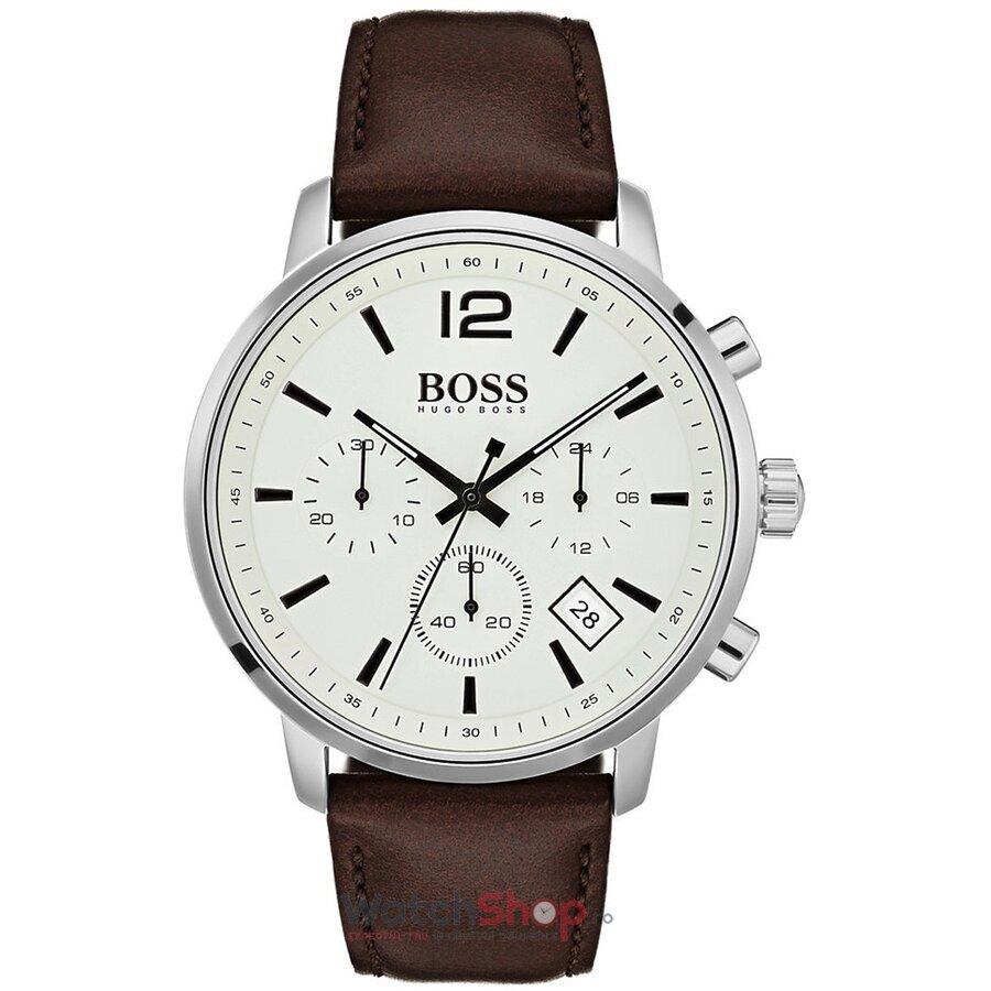 Ceas HugoBoss Attitude 1513609 Cronograf barbatesc de mana