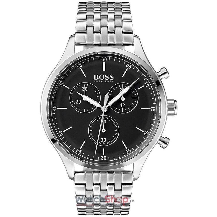 Ceas HugoBoss Companion 1513652 Cronograf barbatesc de mana