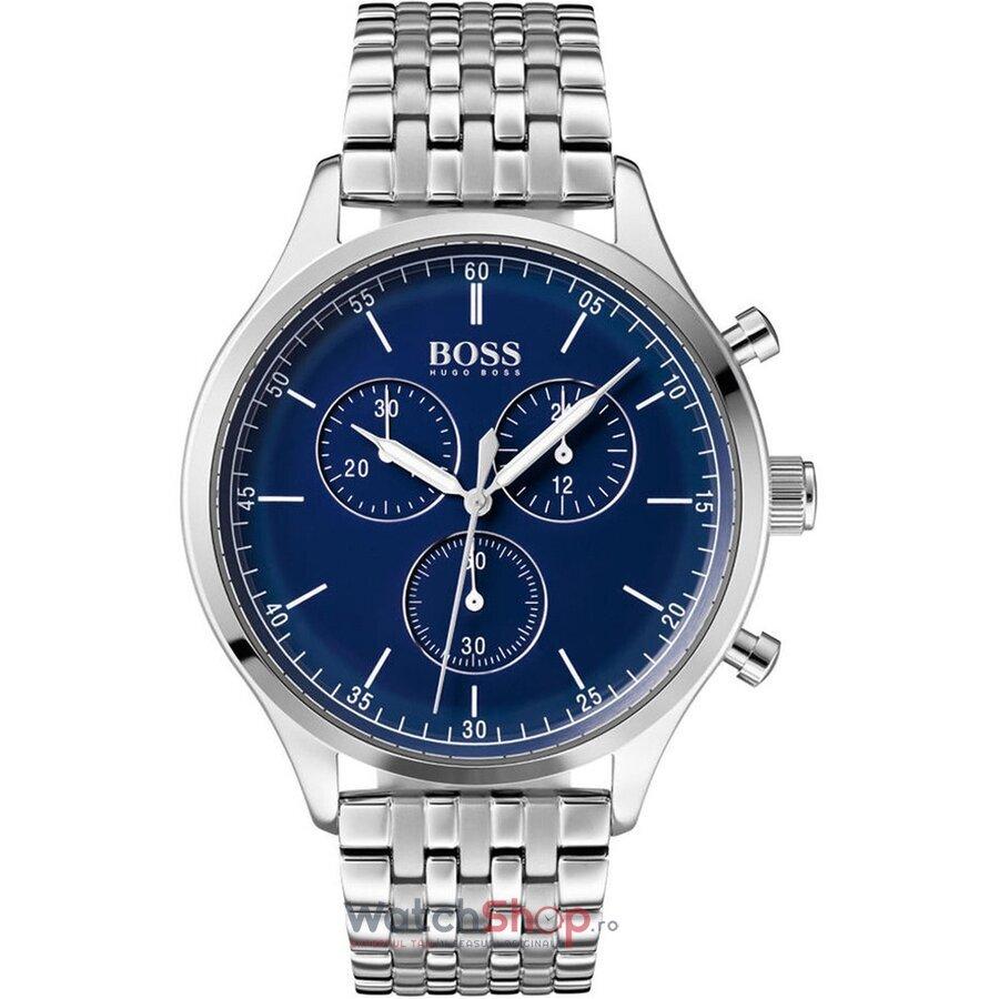 Ceas HugoBoss Companion 1513653 Cronograf barbatesc de mana