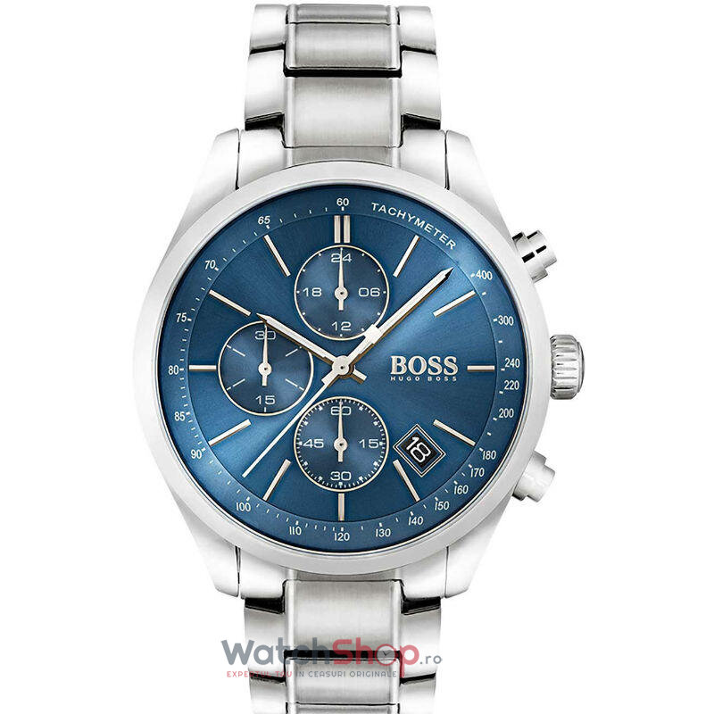 Ceas Hugo Boss GRAND-PRIX 1513478 Chronograph barbatesc de mana