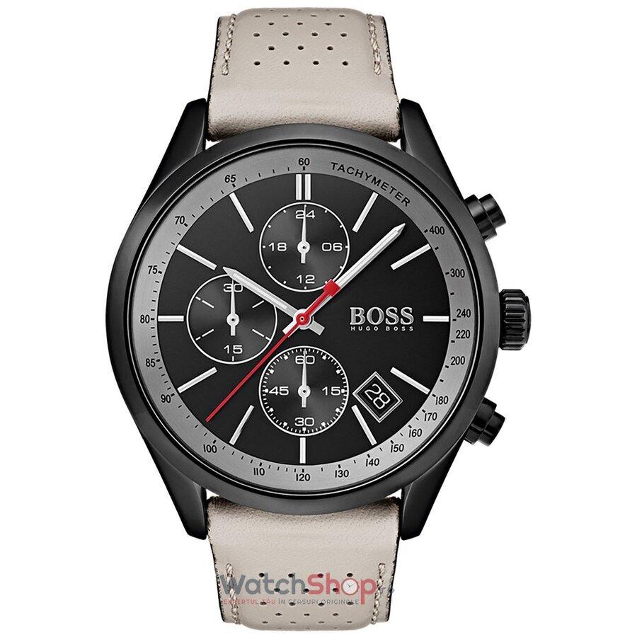 Ceas HugoBoss Grand Prix 1513562 Cronograf barbatesc de mana