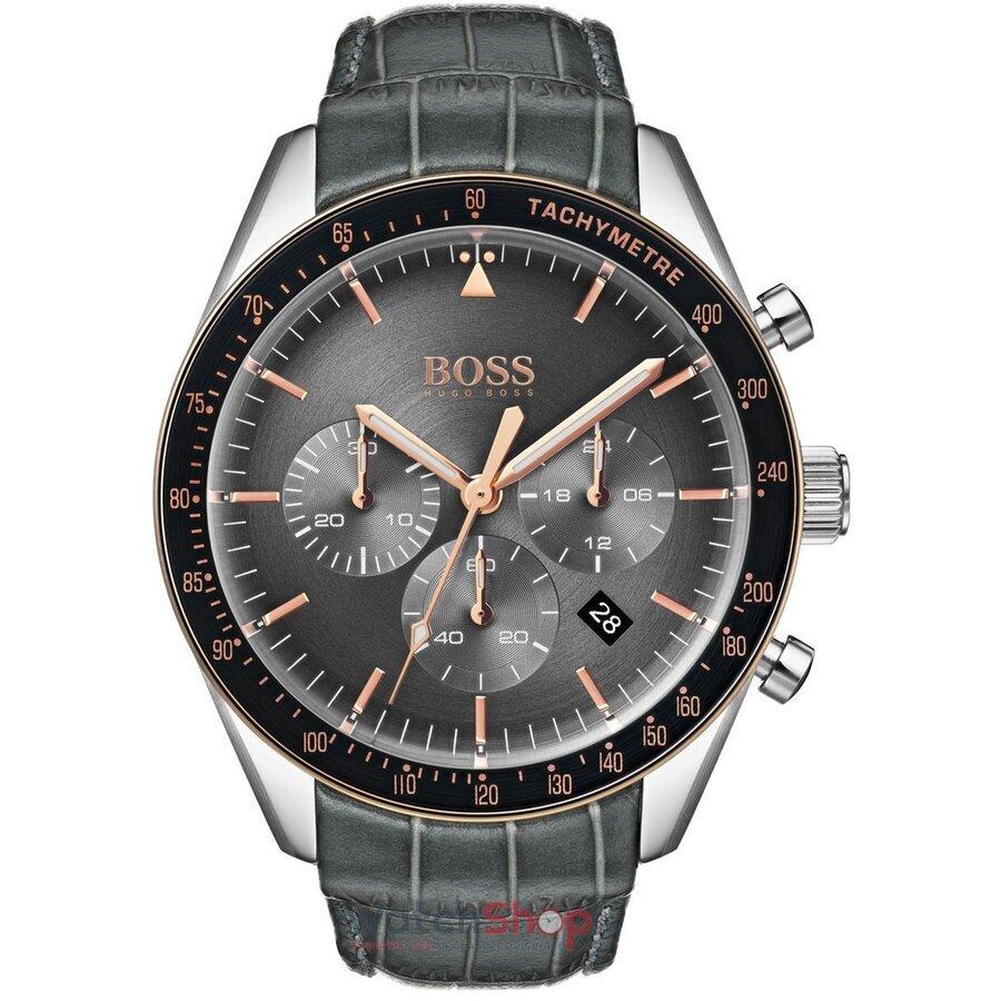Ceas HugoBoss Trophy 1513628 Cronograf barbatesc de mana