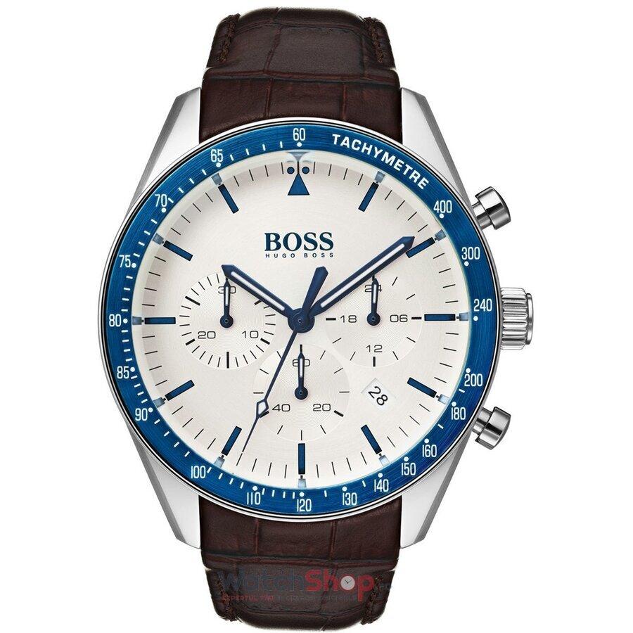 Ceas HugoBoss Trophy 1513629 Cronograf barbatesc de mana