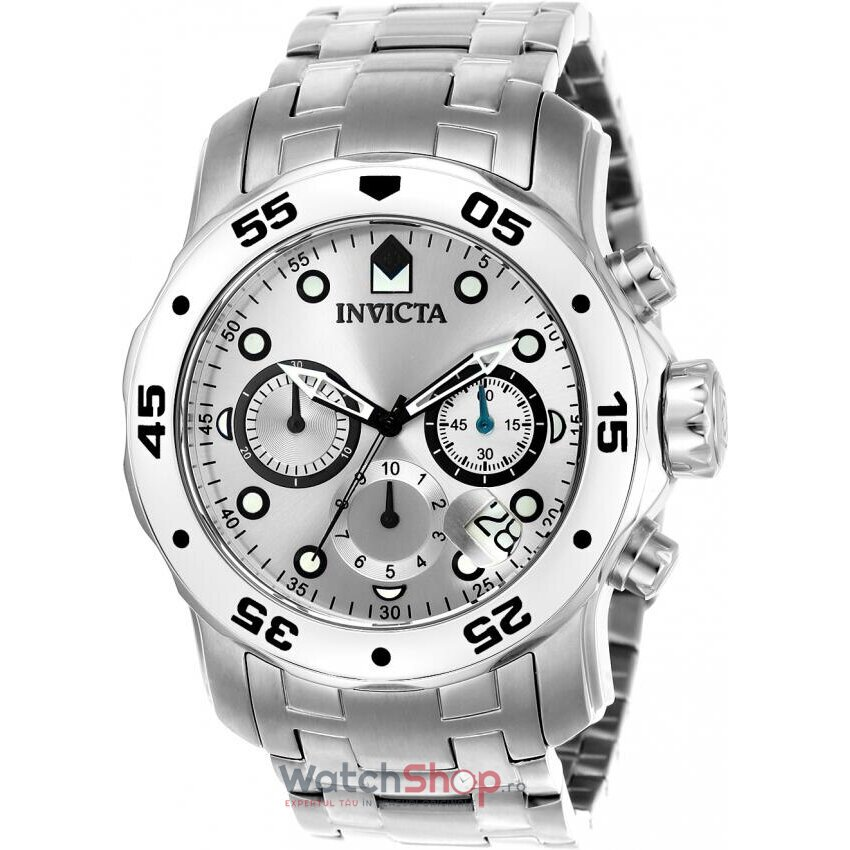 Ceas Invicta Pro Diver 0071 Cronograf barbatesc de mana