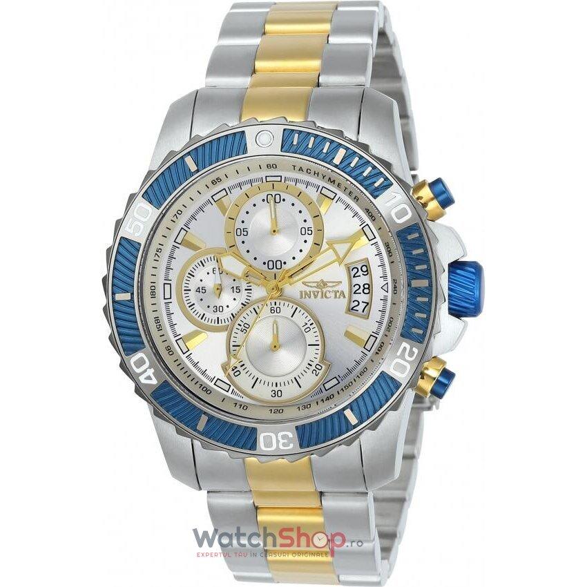 Ceas Invicta Pro Diver 23994 Cronograf barbatesc de mana