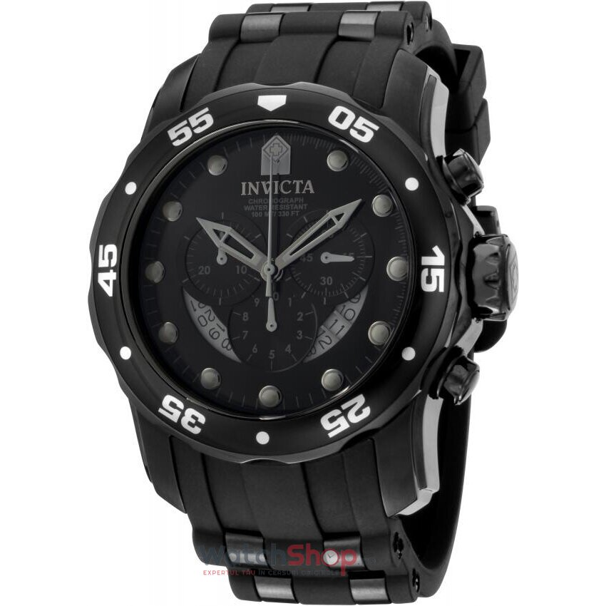 Ceas Invicta Pro Diver Ocean Master 6986 Cronograf barbatesc de mana