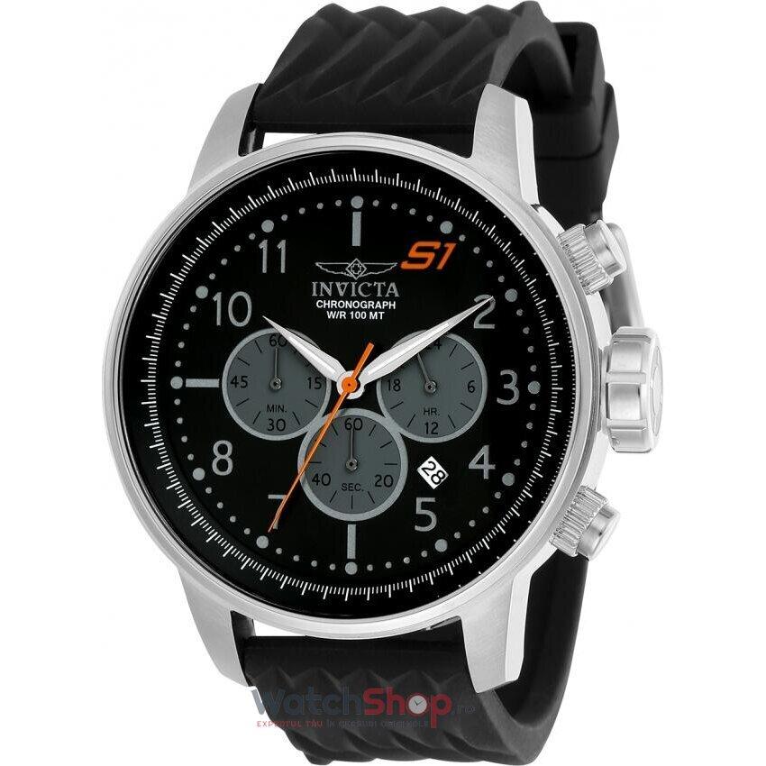 Ceas Invicta S1 Rally 23811 Cronograf barbatesc de mana
