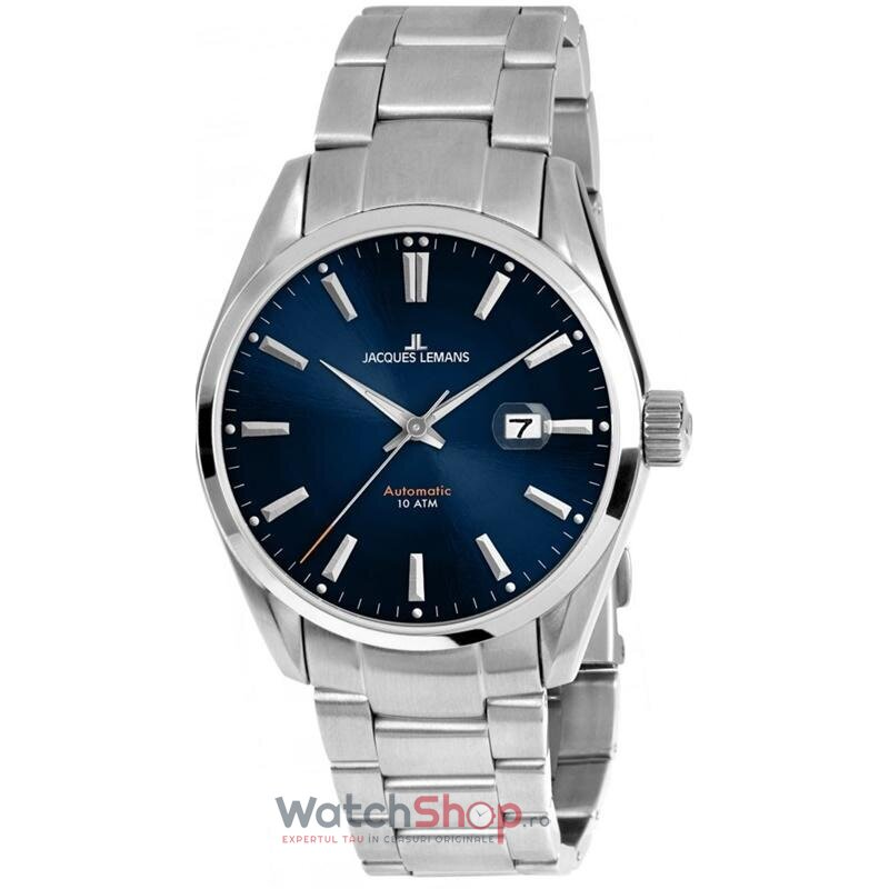 Ceas Jacques Lemans DERBY 1-1846E Automatic barbatesc de mana
