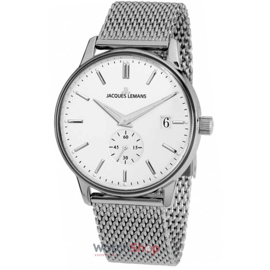 Ceas Jacques Lemans RETRO N-215F Clasic original barbatesc