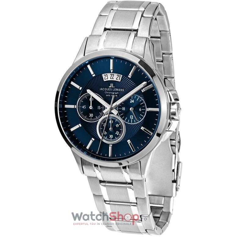 Ceas Jacques Lemans SYDNEY 1-1542I original barbatesc