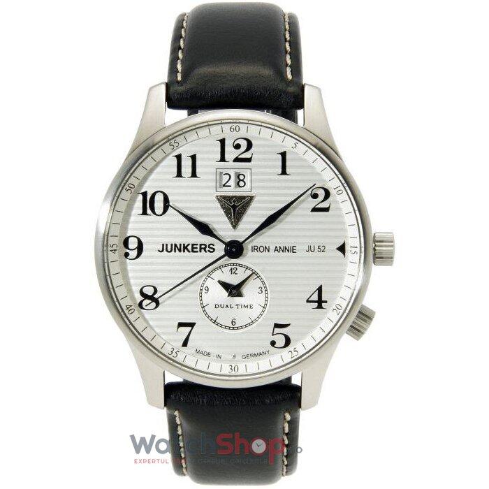 Ceas Junkers IRON ANNIE JU52 6640-1 original barbatesc