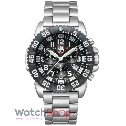 Ceas Luminox SEA A.3182 Steel Colormark barbatesc de mana