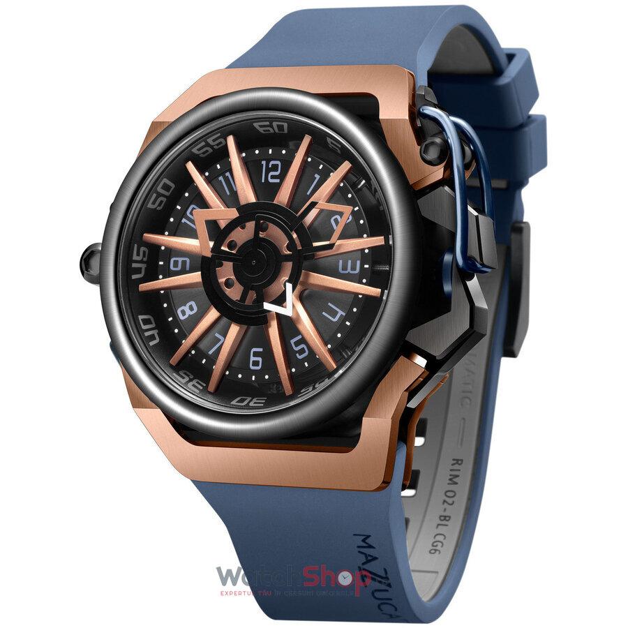 Ceas MAZZUCATO RIM 02-BLCG6 Cronograf Automatic barbatesc de mana