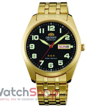Ceas Orient Three Star RA-AB0022B19B Automatic original barbatesc