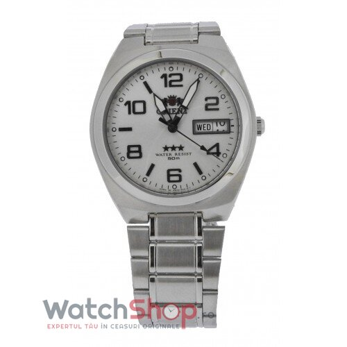 Ceas Orient Three Star SAB08003W8 Automatic original barbatesc