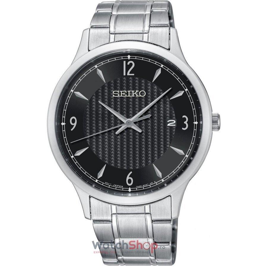 Ceas Seiko Classic SGEH81P1 original barbatesc