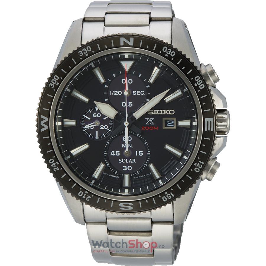 Ceas Seiko Prospex SSC705P1 Cronograf Solar barbatesc de mana