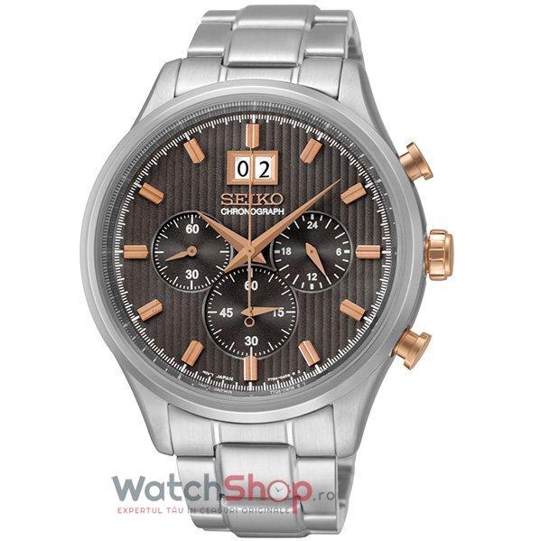 Ceas Seiko SPORTS SPC151P1 Cronograf barbatesc de mana